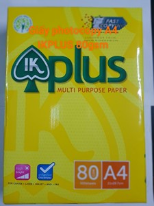 Giấy photocopy A4(80) IK Plus